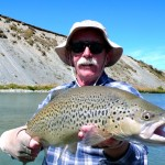 Dry fly brown